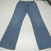Womens Levi's 512 Perfectly Slimming Boot Cut Blue Jeans Size 14 Long W32 L34 Photo