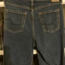 Womens Levi Signature Blue Jeans Boot Cut Misses Size 10 Short 30x28 Mid Rise Photo