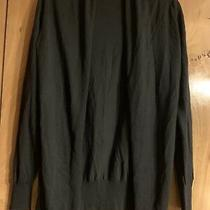 Womens Long Sleeve Open Front Cardigan Sz  S Black by Nine West Jeans Photo