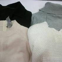 Womens Lot of 4 Nice Fashionable Sweaters Size Medium Dkny Jeans and Others Photo