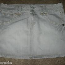 Womens Lt Gray Gap Ltd Edition Jeans Mini Skirt 10 Photo