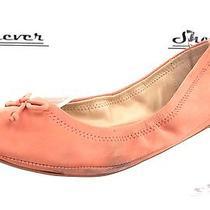 Womens Lucky Brand Blush Pink Leather Ballet Flats Sz. 8.5 M Photo