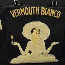 Womens Martini and Rossi Vermouth Bianco Wine Art Hobo Handbag Purse 12