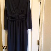 Womens Max and Cleo Size Medium Dress in Blue Photo