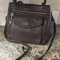 Womens Medium Brown Leather Vintage