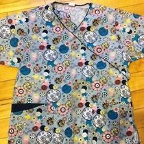 Womens Medium Scrub Top-Medium-Super Cute Photo