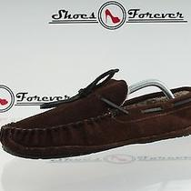 Womens Minnetonka Dark Brown Leather Slippers Shoes Sz. 11 Great Photo