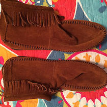 Womens Minnetonka Moccasin Size 10 Photo