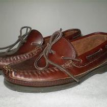 Womens Minnetonka Moccasin Slip on Moccasin Loafers Brown 6.5 Photo