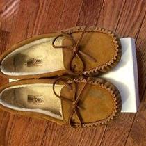 Womens Minnetonka Suede Slippers Size 10 Photo