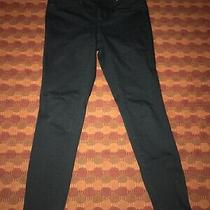 Womens Mossimo Black Mid Rise Jeggings Size 4/27 Photo