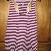 Womens Mossimo Size Large Racerback Nwot Vneck Tunic Long Length Tank Look Photo
