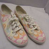 Womens Multi-Colored Coachbarrettathletic Tennis Shoes Size 11 Photo
