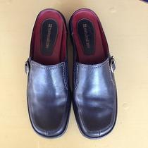 Womens Naturalizer Black Slip Mules.  Size 7m.  Gently Worn. Photo
