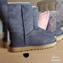 Womens Navy Ugg Boots Size 9 Brand New Photo