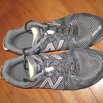 Womens New Balance Athletic Running Sneakers Shoes 810 V2 Us 9.5 2e Usa Grey Pur Photo