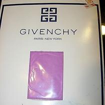 Womens New Givenchy Orchid Stockings Lingerie Pantyhose Nylons Sheer Size B Photo