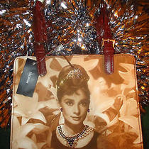 Womens New Purse Med Adorned Audrey Hepburnbreakfast at Tiffanys Rudolphskids Photo