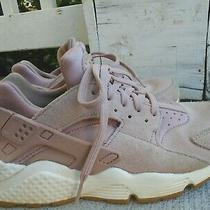 Womens Nike Air Huarache Pink Blush Running Shoes Sz 8 Photo