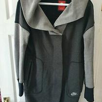 Womens Nike Coat Jacket Hoodie Size L Grey Excellent Condition Photo