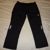 Womens Nike Element Thermal Running Pants Black Size Xl 425023 010 Photo