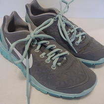 Womens Nike Free Run 2 Athletic Shoes Size 5.5 Gray/aqua Cute & Lightweight Photo