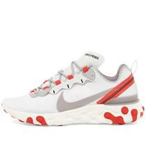 Womens Nike React Element 55 White Grey Red Bq2728-010 Running Training Athleti Photo