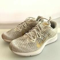 Womens Nike Zoom Winflo 5 Phantom/metallic Gold-String Size 7.5 Photo