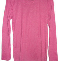 Womens Oh Baby Heather Cranberry Long Sleeve Knit Top -Size Med (8-10)- Nwt Photo