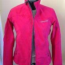 Womens Patagonia Adze Softshell Polartec Jacket Size Small Pink Photo