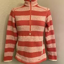 Womens Patagonia Better Sweater Jacket Striped 1/4 Zip Fleece Size Xs Photo