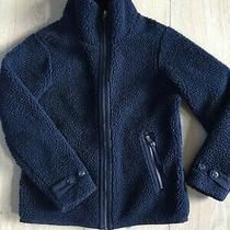 Womens Patagonia Lined Sherpa Pile Fleece Jacket S Blue Photo