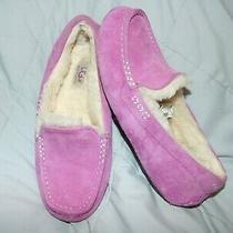Womens Pink Ugg Dakota Moccasin Slippers  Eucsz 6 Photo