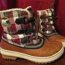 Womens Plaid Water Proof Sorel Boots Photo