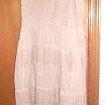 Womens Plus Sz 2x  Gauzey Baby Doll Dress Blush Color Photo