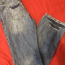 Womens Premium Denim Bootcut Leg Jeans Sz 3 Photo