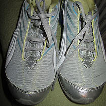 Womens Puma Blue and Silver Running Shoes Size 6 1/2m Photo
