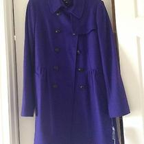 Womens Purple Dkny Coat  Photo