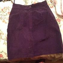 Womens Purple Skirt Photo