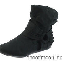 Womens Rampage 5.5 M Black Bastille Casual Dress Slip on Ankle Boot  Photo