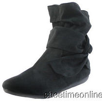 Womens Rampage 6m Black Brie Fashion / Dress / Casual / Ankle / Boots Photo