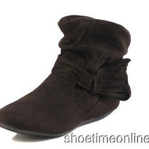 Womens Rampage 7.5 Brown Beecher Fashion Ankle Bootie  Photo
