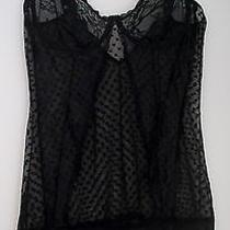 Womens Rampage Black Lace Lingerie Camisole Nightgown Size Plus 2x Photo