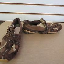 Womens Reebok Brown Slip on Yoga Sneakers Size 8.5 Rb 508 Pvn 32-133226 Photo
