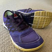 Womens Reebok Crossfit Fitness Sneakers Shoes Sz 7.5 Purple Photo