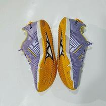 Womens Reebok Crossfit Sneakers Size 8 Purple & Yellow Gym Shoes Photo
