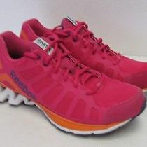 Womens Reebok Hot Pink Running Cross Training Fashion Sneaker  Sz 9 Photo