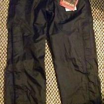 Womens  Rei Gear E1 Elements Waterproof Ski/rain Pants Size S Black. Photo