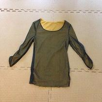 Womens Reversable Sheer Shirt S Photo
