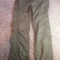 Womens  Roxy Green Cargo Pants Size 7 Ked Photo
